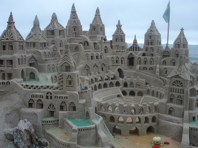 seo is a lot like building sandcastles